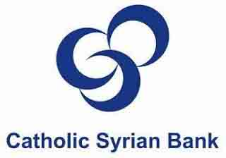 Catholic Syrian Bank Specialist Officer Recruitment 2017