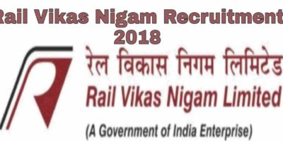 Rail Vikas Nigam Recruitment 2018
