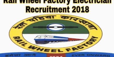 Rail Wheel Factory Electrician Recruitment 2018