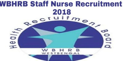 WBHRB Staff Nurse Recruitment 2018